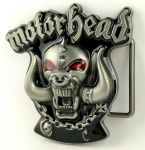 belt buckle, Motorhead Rock Heavy Metal