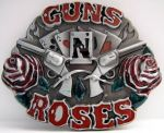 belt buckle, GUNS N ROSES Revolvers